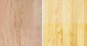 Canadian White Hard Maple/Northern White Ash