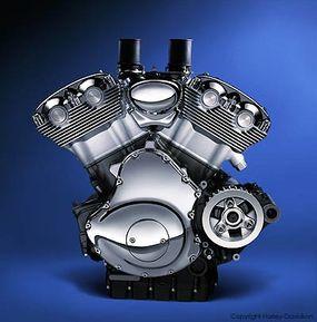 The Revolution, a Harley-Davidson V-twin engine