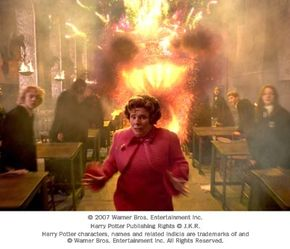 """Special effects used in Warner Bros. Pictures' fantasy """"Harry Potter and the Order of the Phoenix."""""""