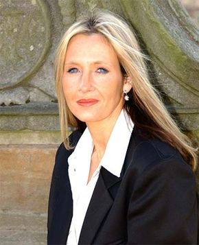 J.K. Rowling, author of the bestselling Harry Potter series.