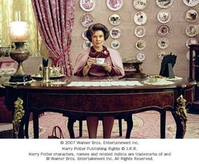 """Imelda Staunton as Dolores Umbridge in Warner Bros. Pictures' fantasy """"Harry Potter and the Order of the Phoenix."""""""