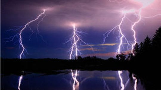 Can we harvest the energy of lightning?