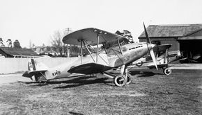 Although the fabric-covered metal frame of the Hawker Hart was lightweight, it was strong, as well. The wings were of different lengths, with the upper wing swept back slightly. See more classic airplane pictures.