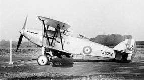 The Hawker Hart entered RAF service at the end of 1929 (some sources claim January 1930).