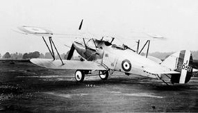 Besides being an effective light bomber, the Hawker Hart excelled as a trainer and as a seaplane, with floats replacing the fixed landing gear.