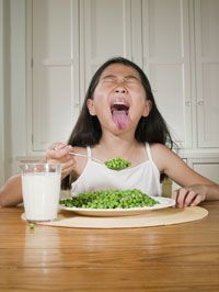 Many of us claim to hate vegetables when we're younger. See more pictures of emotions.