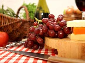 Foods Under $5 Image Gallery Fruit and cheese are perfect foods for a picnic. See more pictures of foods under $5.