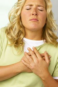 Sadly, depicting heart attack victims like this causes many people to not recognize the symptoms.