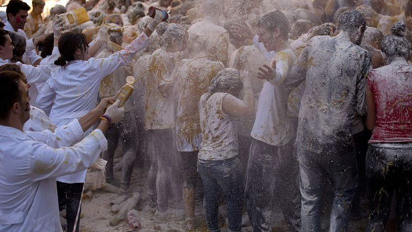 hazing med students, Spain