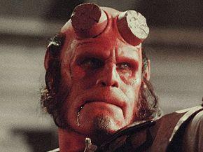 Ron Perlman stars as Hellboy