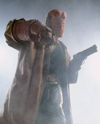 Ron Perlman stars as Hellboy. See more superhero pictures.