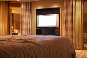 Integrating your television into a home theater may require special expertise. See more HDTV pictures.