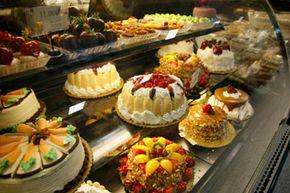 Array of desserts
