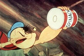 Popeye owes his pipes to spinach. What would he reach for if spinach weren't around?