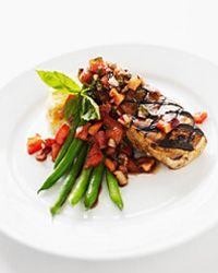 Balsamic vinegar makes a great chicken marinade.