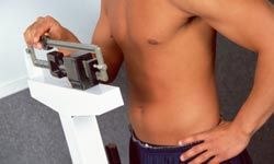 Being overweight is associated with an increase in cholesterol.