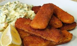 You can do better than fish sticks.