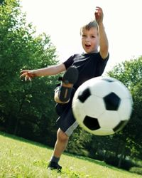 The earlier your child gets moving, the better.
