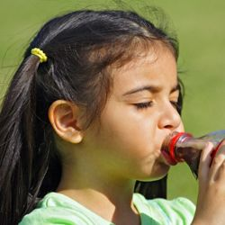 Sodas are full of sugar -- exactly what you don't want for your child.