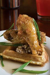 Fried chicken and waffles is a delicious indulgence, but there are better nutritional choices when it comes to soul food.