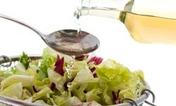 Making your own salad dressing can be a healthy and inexpensive alternative to bottled  dressings. See more sensational salad pictures.