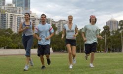 Join a group sport or activity if you like being social.
