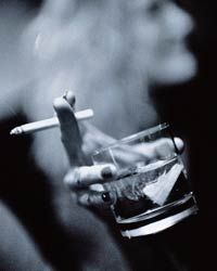 If a cigarette-and-booze combo is your idea of a good time, your body's going to get its revenge.