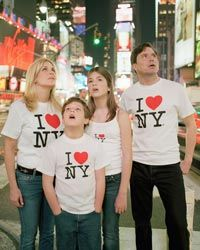 New York isn't the only thing this family's hearts have in common.