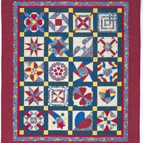 This design is a great way to showcase the long-standing tradition of using hearts, bars, and stars in quilting.