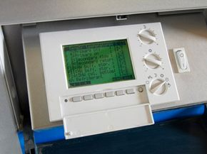 A controller for a standard ground-source heat pump.