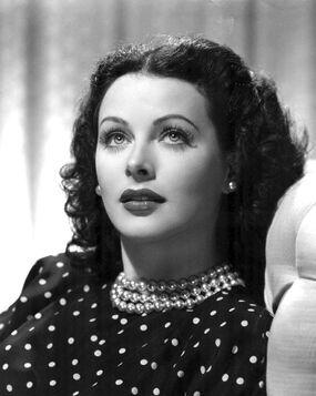 The Heavenly Body, Hedy Lamarr