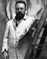 Matisse in his Paris studio.