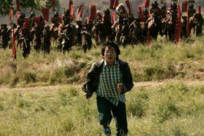 "Masi Oka as Hiro Nakamura in the season one finale of ""Heroes"""