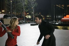 Niki (Ali Larter) and Sylar (Zachary Quinto) have a showdown in the final episode of season one.