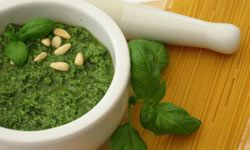 You can't have pesto without basil.