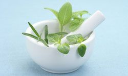 Look to your kitchen for herbal relief from yeast infections.
