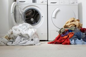 Although they're a bit more expensive, high-efficiency washers might be worth it in the long run. See more green living pictures.