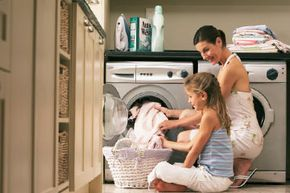 Because high-efficiency machines tend to have more customized settings, it's easier for users to find one that is right for a particular load, providing a better wash cycle. See more green living pictures.