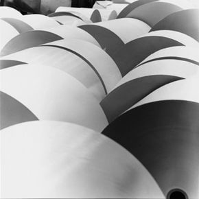 Before paper winds up as a random printout on your desk or wound around one of these giant rolls, it has to go through an extensive production process.