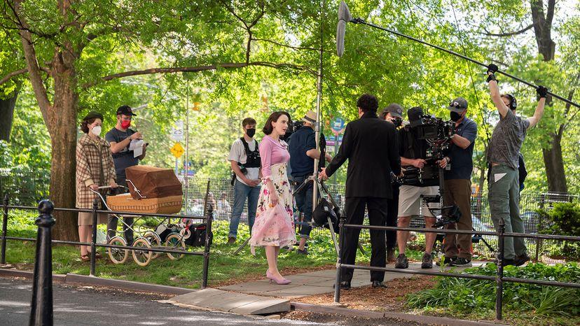 film crew, Marvelous Mrs. Maisel