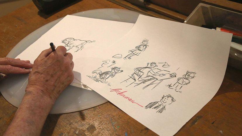 Howard Beckerman illustration