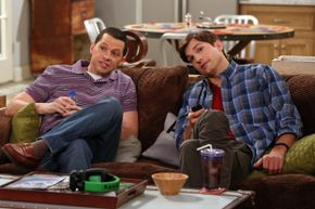"TV actors' salaries can skyrocket when a show is a hit, like ""Two and a Half Men."""