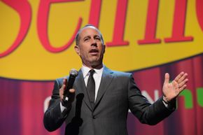 "Jerry Seinfeld continued to make money off ""Seinfeld"" even after the long-running show ended."