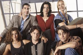 "The cast of ""Friends"" probably got even more friendly when their salaries shot up to $1 million per episode."