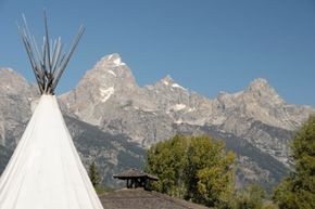 There are lots of types of lodgings available near Buck Mountain. Some places even rent out teepees!