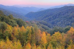 Leaf-peeping in the Smokies is spectacular, but bear in mind that everyone else thinks so, too!