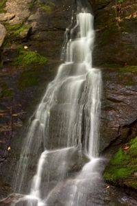 Juney Whank Falls is a pretty kid-friendly destination in the Smokies.