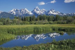 The Grand Teton National Park is one of the beautiful and well-known hiking sites in the U.S. See more national park pictures.