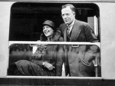 George Putnam and Amelia Earhart