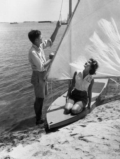 John F. and Jacqueline Bouvier Kennedy